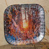 Посуда ручной работы. Ярмарка Мастеров - ручная работа Тарелки, с которых можно есть.)). Handmade.