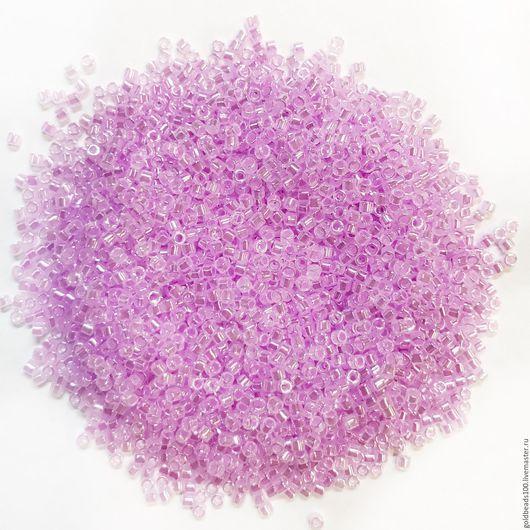 Для украшений ручной работы. Ярмарка Мастеров - ручная работа. Купить MIYUKI DELICA 11/0 DB248 ceylon color-lined primrose pink. Handmade.