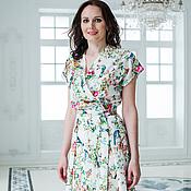 Одежда ручной работы. Ярмарка Мастеров - ручная работа Летнее платье из вискозы. Handmade.