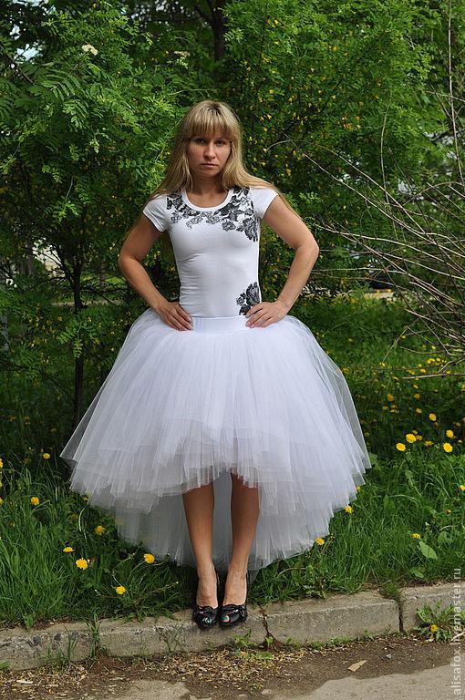 юбка - пачка свадебная