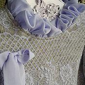 Работы для детей, ручной работы. Ярмарка Мастеров - ручная работа Платье Нежность акварели Сирень. Handmade.