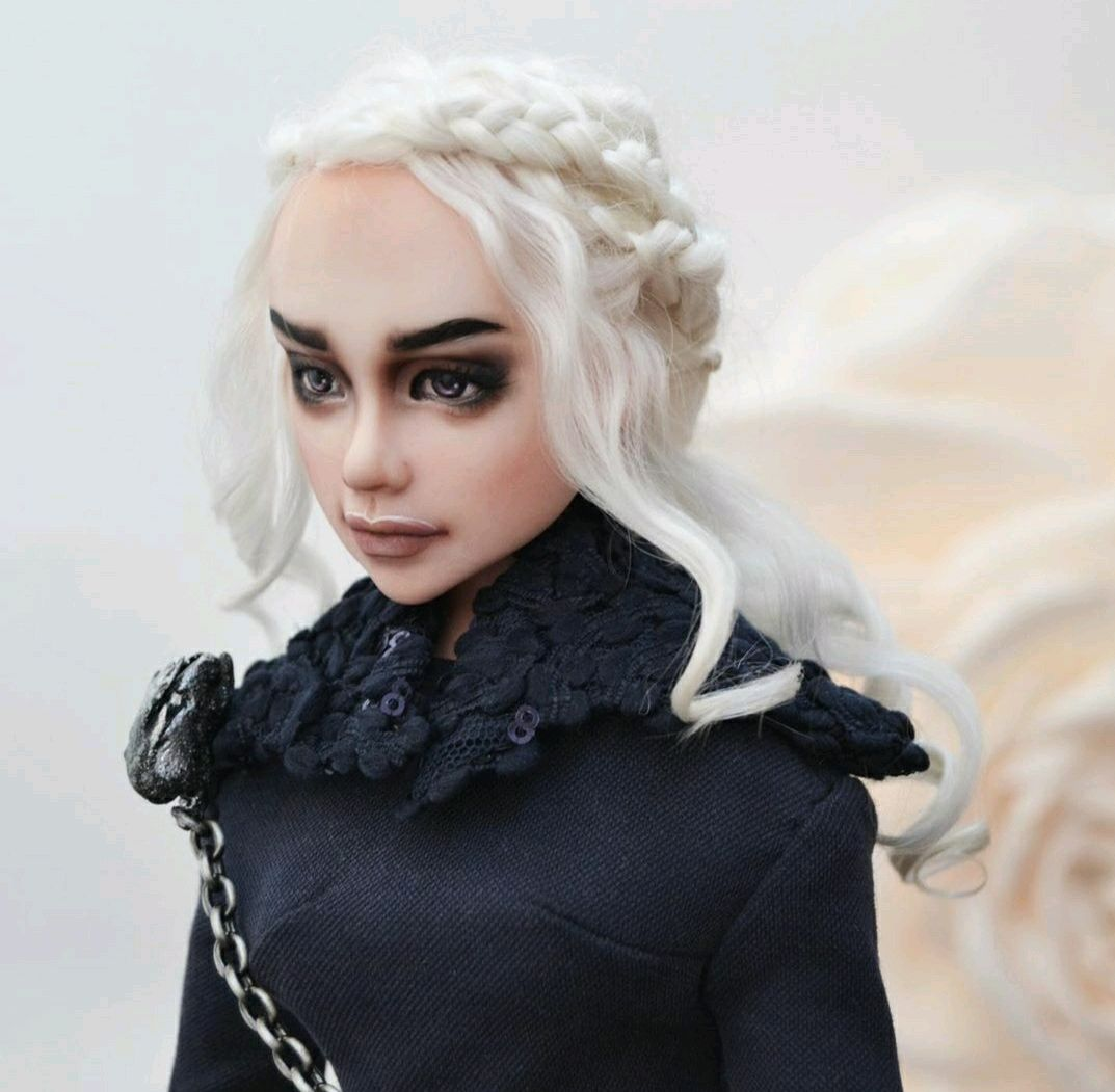 Daenerys - author's doll. Based on 'Game of thrones', Dolls, Stary Oskol,  Фото №1