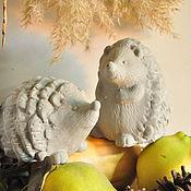 Для дома и интерьера handmade. Livemaster - original item hedgehogs of concrete for decorative interiors and gardens of Provence, Country. Handmade.