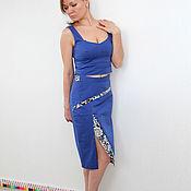 Одежда ручной работы. Ярмарка Мастеров - ручная работа Костюм топ+юбка. Handmade.