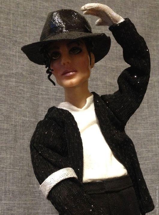 Коллекционные куклы ручной работы. Ярмарка Мастеров - ручная работа. Купить Billie Jean Кукла с портретным сходством. Handmade.
