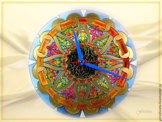 Часы для дома ручной работы. Ярмарка Мастеров - ручная работа. Купить Часы Завитки. Handmade. Часы, часы для дома