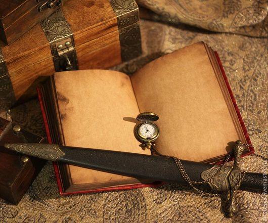 Блокноты ручной работы. Ярмарка Мастеров - ручная работа. Купить Красный винтажный блокнот. Handmade. Бордовый, антуражный, подарок