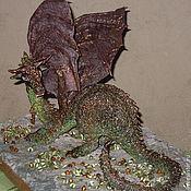 Куклы и игрушки ручной работы. Ярмарка Мастеров - ручная работа Драко - страж сокровищ. Дракон, значит.... Handmade.