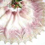 Аксессуары handmade. Livemaster - original item Spring Bouquet Mini shawl, fichu or openwork scarf. Handmade.