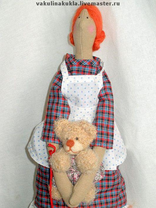 """Куклы Тильды ручной работы. Ярмарка Мастеров - ручная работа. Купить Кукла """"Лизонька"""". Handmade. Тильда, украшение интерьера, холлофайбер"""