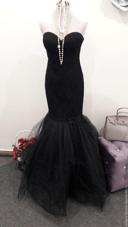 Платья ручной работы. Ярмарка Мастеров - ручная работа. Купить Вечернее платье в пол. Шикарное вечернее платье. Handmade.