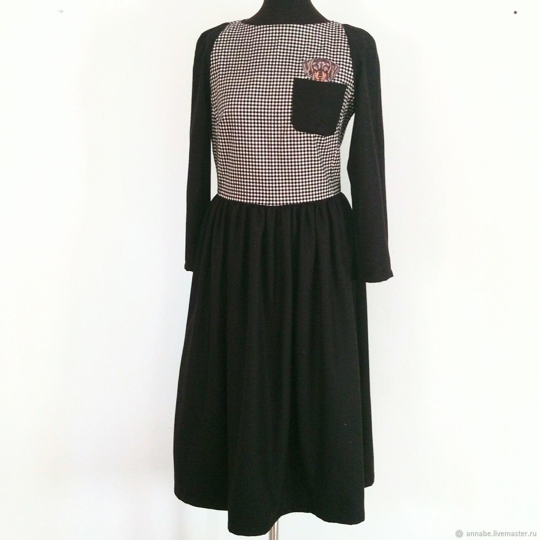 Теплое зимнее платье Mon Ami фланель шерсть миди размер 48, Платья, Экс-ан-Прованс,  Фото №1