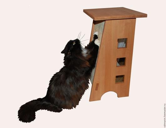 Аксессуары для кошек, ручной работы. Ярмарка Мастеров - ручная работа. Купить Когтеточка для кошек.. Handmade. Коричневый, аксесуары для кошек, джут