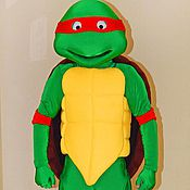 Одежда handmade. Livemaster - original item Teenage Mutant Ninja Turtles with the volume head. Animator-actor suit. Handmade.