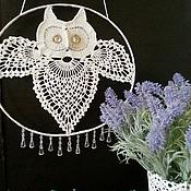 Для дома и интерьера ручной работы. Ярмарка Мастеров - ручная работа Панно сова. Handmade.