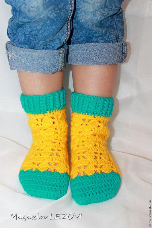 Носки, гольфы, гетры ручной работы. Ярмарка Мастеров - ручная работа. Купить Детские носочки. Handmade. Носочки вязаные