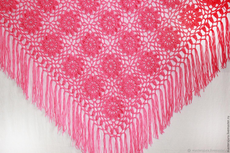 Crocheted shawl Cloudberry, Shawls, Prokhladny,  Фото №1
