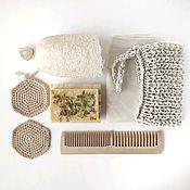 Подарки ручной работы. Ярмарка Мастеров - ручная работа Набор эко-товаров для ухода за собой. Handmade.