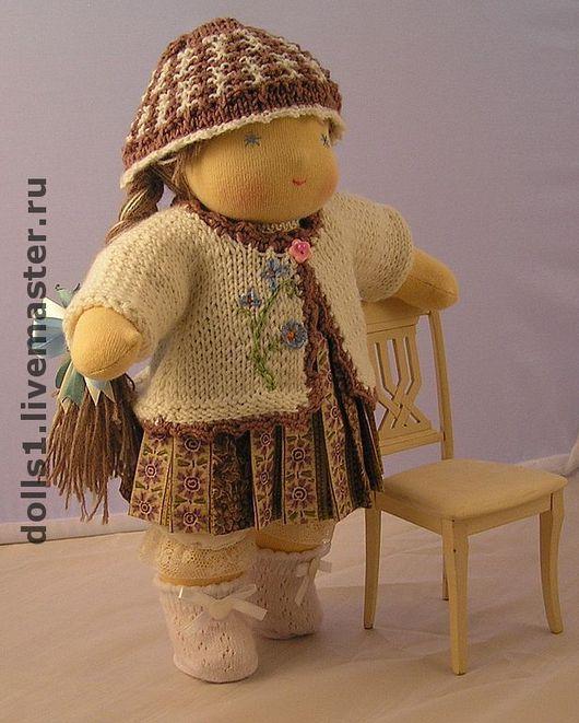 Вальдорфская игрушка ручной работы. Ярмарка Мастеров - ручная работа. Купить Карина кукла в вальдорфском стиле. Handmade. Текстильная кукла