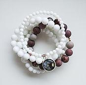 Украшения handmade. Livemaster - original item Bracelet Smoky meadows. Handmade.
