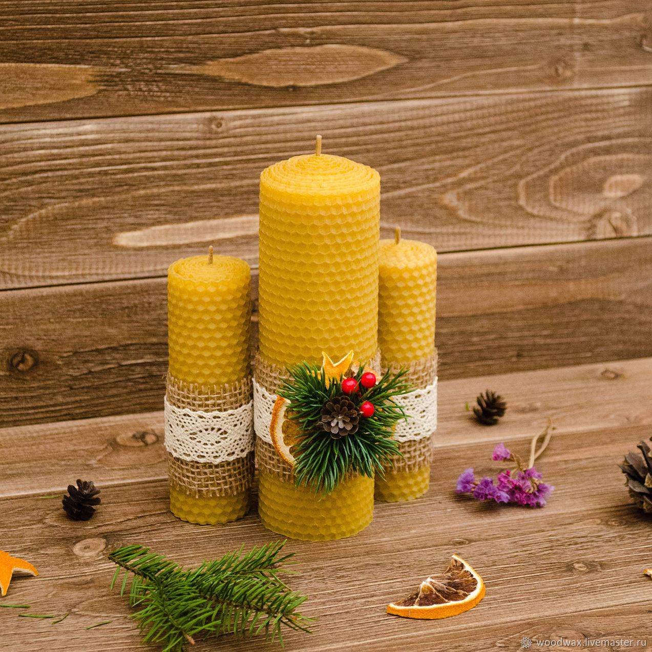 Новогодний набор свечей, Подарки, Орел, Фото №1