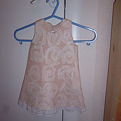 Работы для детей, ручной работы. Ярмарка Мастеров - ручная работа валяное платье для девочки. Handmade.