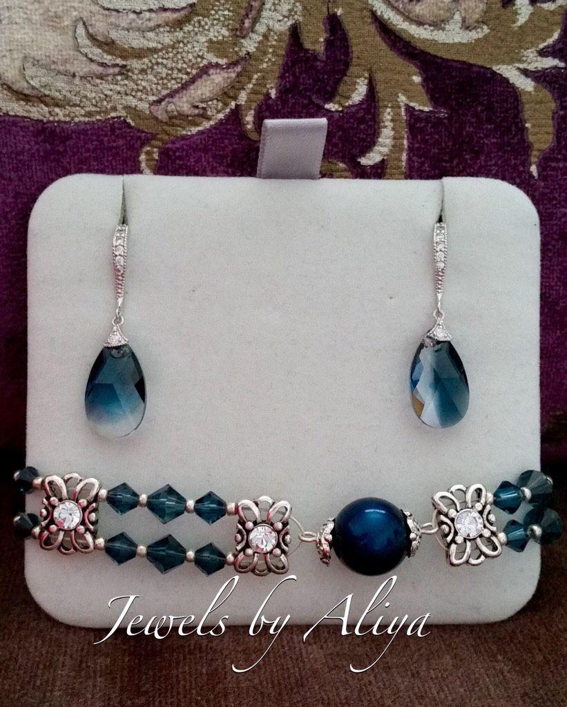 Montana bracelet and earrings, Bead bracelet, Abu Dhabi,  Фото №1