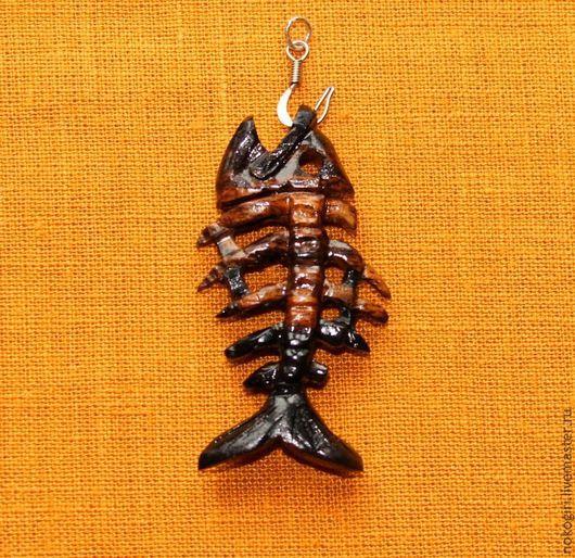 Кулоны, подвески ручной работы. Ярмарка Мастеров - ручная работа. Купить Кулон Воспоминание о Рыбке. Handmade. Кулон, деревянный кулон