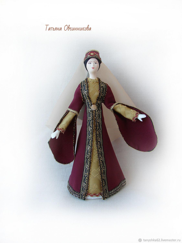 Фарфоровая кукла в турецком национальном костюме – купить ...