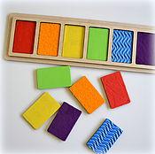 Куклы и игрушки handmade. Livemaster - original item Tactile boards. Educational game. Handmade.