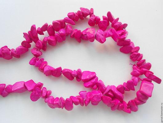 Для украшений ручной работы. Ярмарка Мастеров - ручная работа. Купить Яшма розовая,крошка,5-8мм,нить,40-42см. Handmade.