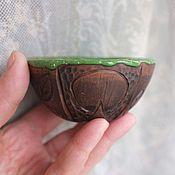 Посуда ручной работы. Ярмарка Мастеров - ручная работа Пиала чайная разноцветная. Handmade.