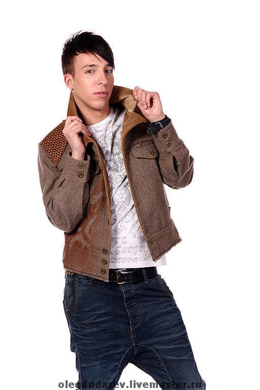 Верхняя одежда ручной работы. Ярмарка Мастеров - ручная работа. Купить куртка. Handmade. Демисезонная куртка, однотонный, мужска куртка