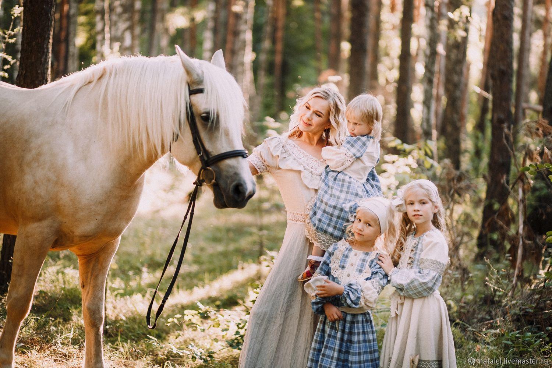 """Family look, фотопроект """"Август."""", платья Бохо, кружево, Костюмы, Орел,  Фото №1"""