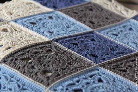 Текстиль, ковры ручной работы. Ярмарка Мастеров - ручная работа. Купить Плед Морской бриз. Handmade. Нежность, плед, мальчик