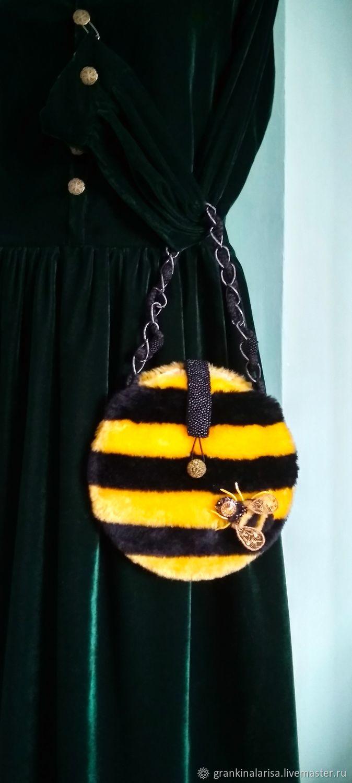Bag-handbag fur little Bee Zhuzha, Classic Bag, Ekaterinburg,  Фото №1