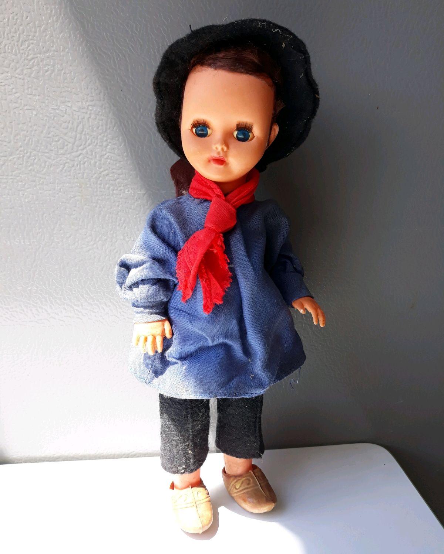 Doll . Vintage. France, Vintage doll, Albi,  Фото №1