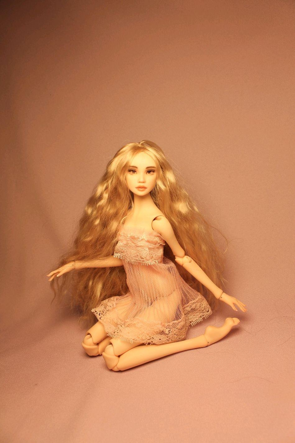 Авторская шарнирная кукла.Молд Эмили, Шарнирная кукла, Санкт-Петербург,  Фото №1