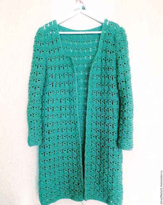 Кофты и свитера ручной работы. Ярмарка Мастеров - ручная работа. Купить Кардиган в стиле Лало (брумстик). Handmade. Комбинированный, рисунок
