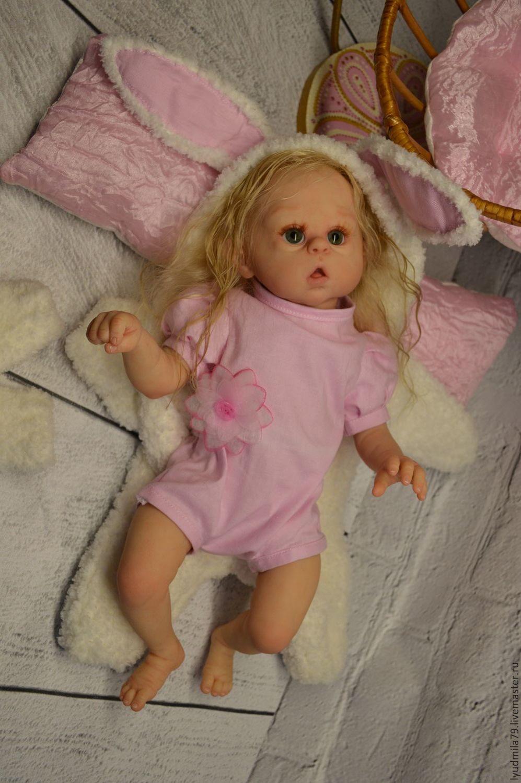 Reborn-doll mini Ophelia Bunny, sculptor Olga Auer, Reborn, Moscow,  Фото №1
