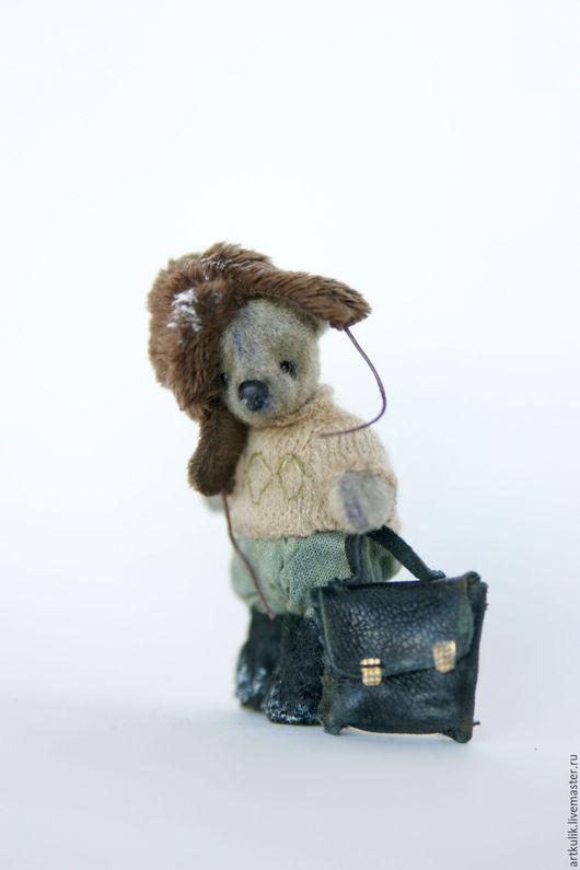 Мишки Тедди ручной работы. Ярмарка Мастеров - ручная работа. Купить Филиппок. Handmade. Коричневый, филиппок, авторская игрушка, школа