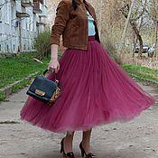 Одежда ручной работы. Ярмарка Мастеров - ручная работа Утепленная юбка - пачка из тюля. Handmade.