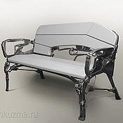 Для дома и интерьера ручной работы. Ярмарка Мастеров - ручная работа Кованые скамейки. Handmade.