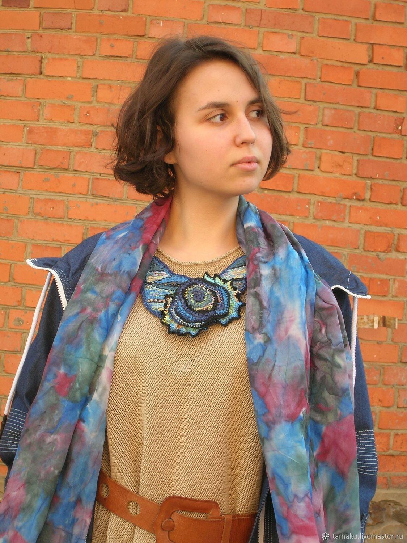 Колье ручного ткачества Rosa Morena, Колье, Пенза,  Фото №1