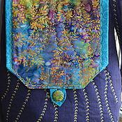 """Текстильная сумка """" Весеннее разноцветье."""""""
