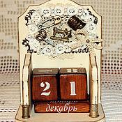 Для дома и интерьера ручной работы. Ярмарка Мастеров - ручная работа Вечный календарь Для рукодельницы. Handmade.