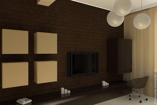 Дизайн интерьеров ручной работы. Ярмарка Мастеров - ручная работа. Купить Дизайн квартиры в Сокольниках. Handmade. Дизайн, камень, керамика