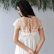 Свадебный салон ручной работы. Ярмарка Мастеров - ручная работа Платье SS16. Handmade.