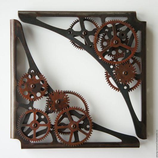 """Мебель ручной работы. Ярмарка Мастеров - ручная работа. Купить Кронштейны для полок """"Time to shelf"""". Handmade. Комбинированный, полки"""