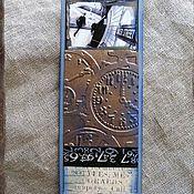 """Канцелярские товары ручной работы. Ярмарка Мастеров - ручная работа Закладки из коллекции """"Шерлок и Лондон"""" (№ 16). Handmade."""